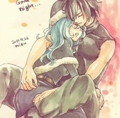 Gray and Juvia (credits to owner)