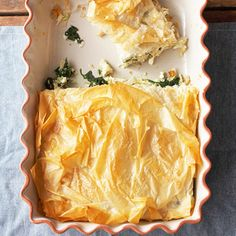 spinach and chicken pie