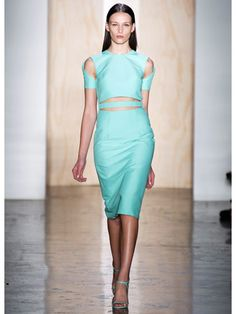 Spring 2013 Fashion Trends - Best Trends from Spring 2013 Fashion Week - Marie Claire    Cushnie et Ochs