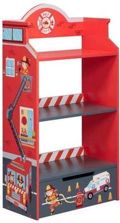Kidkraft Firehouse Bookcase Shutupandtakemymoney Kids
