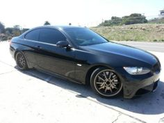 2007 BMW 3 Series Premium & Sports Pkg M-3-Black-Auto-80K Mi.