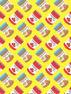 Peanut Butter & Jelly Pattern! – The Supermarket Series by Pattern Paper Co.
