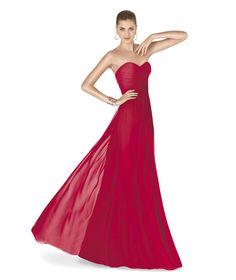 Pronovias te presenta su vestido de fiesta AMARIS de la colección Fiesta 2015.   Pronovias