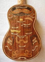 Reverse of the Ukulele Guide to the Moustaches of the World.