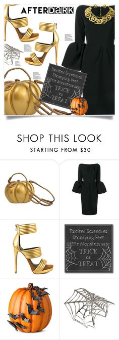 """After Dark: Trick orTreat"" by captainsilly ❤ liked on Polyvore featuring Timmy Woods, Roksanda, Mia Limited Edition, Courtside Market, Improvements, Bernard Delettrez and Chanel"