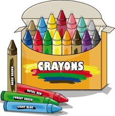 crayons household clipart pinterest crayons clip art and rainbows rh pinterest com crayons clipart border crayons clipart border