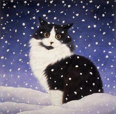 Anne Mortimer — Snow Princess   (900x911)