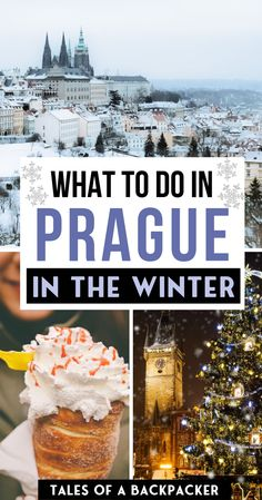 Prague in the winter is a Christmas wonderland. There are so many things to do in Prague in winter (including Christmas Markets!) This is my ultimate Prague winter travel guide with all the best things to do in Prague in Winter Europe Travel Guide, Travel Guides, Travel Destinations, Prague Travel Guide, Christmas Destinations, Budget Travel, European Destination, European Travel, Prague Christmas Market