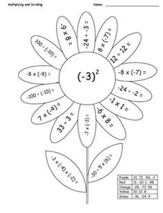 math coloring pages 7th grade 06 | School | 7th grade math ...
