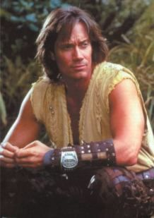 Kevin sorbo Hercules  my first tv writing credit.