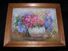 ORIGINAL HYDRANGA PASTEL CHALK DRAWING.  DIRECT FROM TEXAS ARTIST, SIGNED AND FRAMED UNDER GLASS 10.5X13.  VIEW MY ITEMS ON ETSY GO TO ETSY GO TO HAND MADE BOX ARROW TO PEOPLE & PUT IN MY LOGO UINMIND AND HIT RETURN AND YOU WILL GO TO MY LISTINGS,