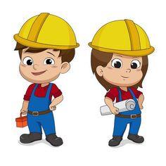 Illustration of Set of cartoon Engineers.Vector and illustration. Cartoon Pics, Cartoon Drawings, Cartoon Characters, Mechatronics Engineering, Engineering Quotes, Mechanical Engineering, Electrical Engineering, Engineer Cartoon, Gift Card Template