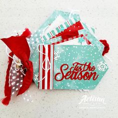 Angela Meiritz-Reid | STAMPIN' UP! CORPORATE BLOG - LET IT SNOW MINI ALBUM | Stampin' Up!