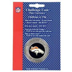 Denver Broncos NFL Challenge Coin/Lucky Poker Chip by NFL. $9.73