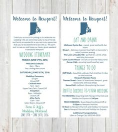 Welcome Letter, Wedding Itinerary, Wedding Welcome Letter, Welcome Bag, Destinat… – Destination Wedding Welcome Bags Destination Wedding Itinerary, Destination Wedding Welcome Bag, Destination Wedding Inspiration, Wedding Welcome Bags, Welcome To The Party, Wedding Ideas, Wedding Planning, Wedding List, Engagement Inspiration