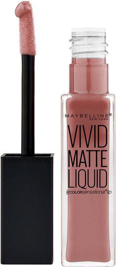 Maybelline Color Sensational Vivid Matte Liquid Lip Color - Grey Envy