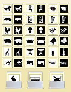 Concept Development Figure-Ground | Montessori Research and Development - Montessori materials, teacher manuals and books