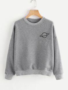 Sweatshirts - White, Grey, Plain, Black & Crew Neck Sweatshirts | Romwe.com