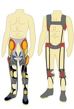 """DARPA awards contract to create """"smart suit"""" to improve soldiers' endurance Exoskeleton Suit, Space Fashion, Mobility Aids, Armor Concept, Wearable Technology, Research Projects, Physics, Real Life, Engineering"""