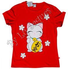 """""""MANEKI-NEKO E SAKURÁS"""" Exclusiva arte em camiseta, totalmente pintada à mão = ) Modelos Baby Look P - M - G / Tradicional P - M - G - GG Malha de qualidade: Vilejack, Malwee, Kohmar, Giardino, Hering, etc; conforme disponibilidade de meus fornecedores Cores da camiseta e desenho a combinar R$80,00 + Despesas de Envio Contato: artbylu@gmail.com"""
