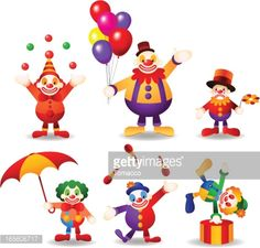 circus characters - Buscar con Google