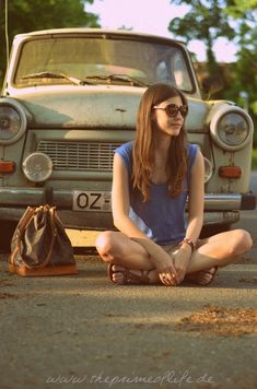 the prime of life - vintage car - trabi - fashion - style
