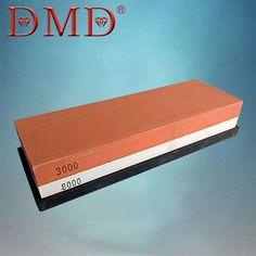1PC DMD Water Stone Double-sided Whetstone kitchen Knife Sharpener Sharpening Flattening 3000 8000 grit free shipping