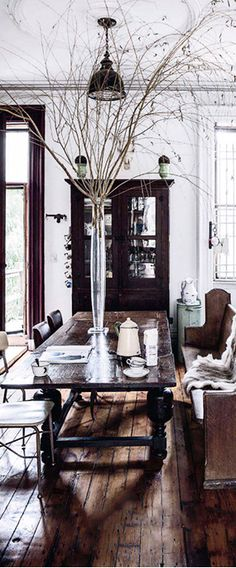 Elle Decor #rustic