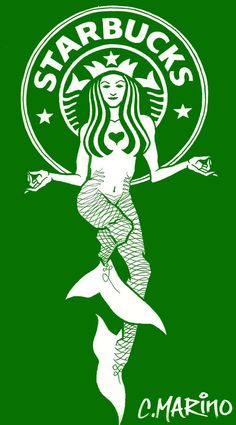 starbucks art | Starbucks Logo Mermaid Redes.. by *CMARINO on deviantART