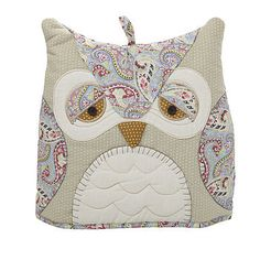 owl tea cosy this would be a cute pillow pattern