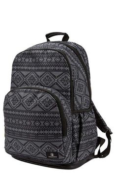 Volcom  Fieldtrip  Print Backpack Black Backpack School 34c831302c205