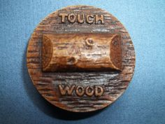 ButtonArtMuseum.com - Vintage Very Old Medium 1 50 Burwood or Syroco Compressed Wood Button