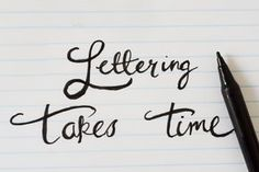 Just like fingerprints, handwriting styles are totally custom and unique to the person. It's a fact that most people dislike their handwriting, but with a little practice you can love it. The key is not to rush so you can keep it...