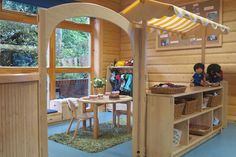 Community Playthings | Asquith Harpenden Arched entry to role play area