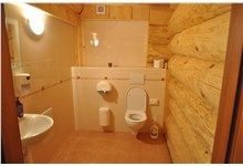 Log Homes Bathrooms Log Home Bathrooms, Log Homes, Washing Machine, Home Appliances, Timber Homes, House Appliances, Log Cabin Bathrooms, Kitchen Appliances, Washer