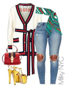 """""""Untitled #965"""" by milkynyc on Polyvore featuring Gucci"""