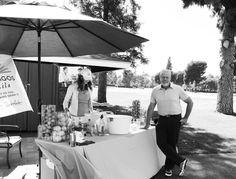 Ron Perlman at Lakeside Golf Club enjoying some #Casamigos