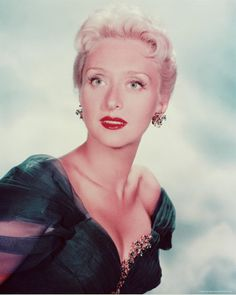 """Celeste Holm (1917 - 2012) She was the original Ado Annie on Broadway in the musical """"Oklahoma!"""", she appeared in the movies """"Gentleman's Agreement"""", """"All About Eve"""", and """"High Society"""""""