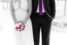 purple wedding - by dieLichtbuilder