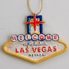 Smith Novelty | Las Vegas Souvenir Christmas Ornament Glitter Ornaments, Christmas Ornaments, Las Vegas Sign, Trees, Lights, Holiday Decor, Souvenir, Christmas Jewelry, Tree Structure