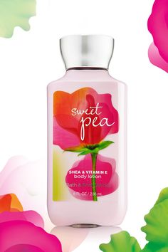 Sweeter, softer, more touchable skin for 16 hours thanks to 2x the moisture & 3x the shea! #SweetPea