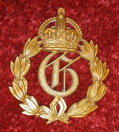 Royal Artillery 1st prize Individual Gunners arm badge