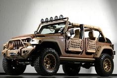 Would you buy this Jeep Wrangler for $100,000?  Starwood Motors in Dallas sells 'em.