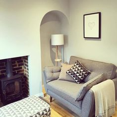 Our most troublesome room is complete! Lounge reveal coming soon... #thedesignoven #shadesofgrey #interiors #interiordesign #homesweethome #homedecor #tunbridgewells #mydfs #myfrenchconnection