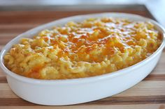 Home made mac & cheese by Ree Drummond / The Pioneer Woman.  ``Just made this. So easy and yummy. Added ham and broccoli to one batch and left the other one untouched. Both were delicious!