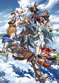 Granblue Fantasy the Animation (グランブルーファンタジー ジ・アニメーション)