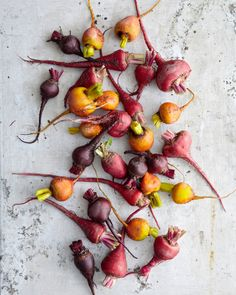 Mixed raw beets by Joseph De Leo