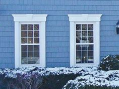 Exterior Window Trim can you put trim on a cement house? answer: in order to add trim