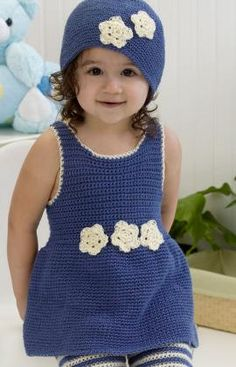 Hat & Jumper Set - Free Pattern!