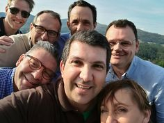 Our smile after tasting Soalheiro today...